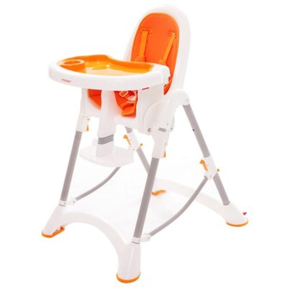 myheart - 折疊式安全兒童餐椅-甜甜橘