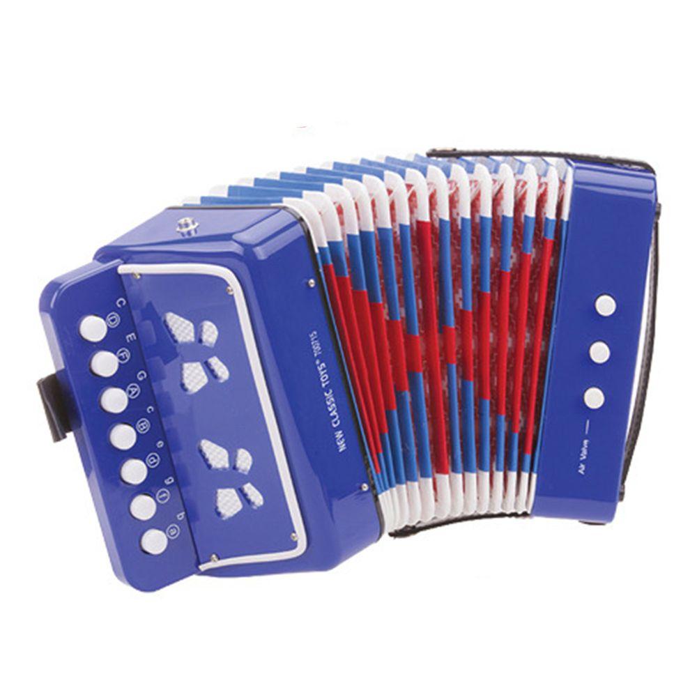 荷蘭 New Classic Toys - 幼兒手風琴玩具-俏皮藍