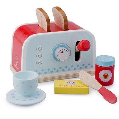 木製家家酒麵包機