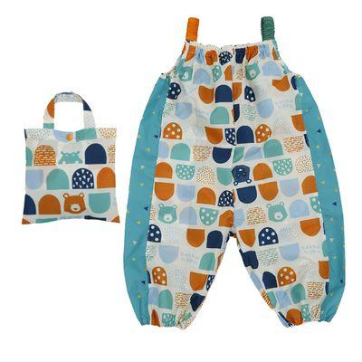 小童遊戲服(附收納袋)-河馬與熊 (90cm)