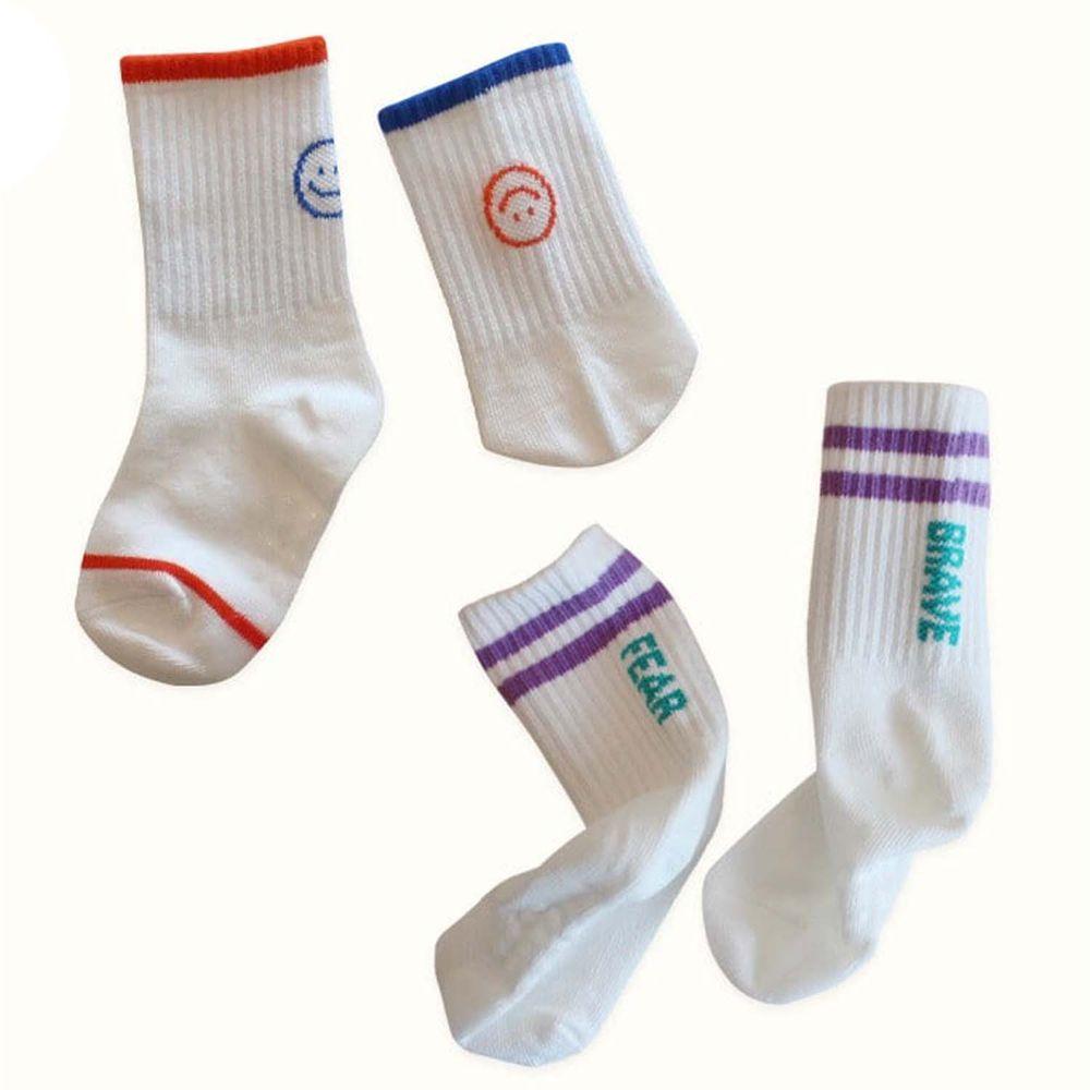 韓國 Kokacharm - 韓國製踝襪-二件組-Super Star
