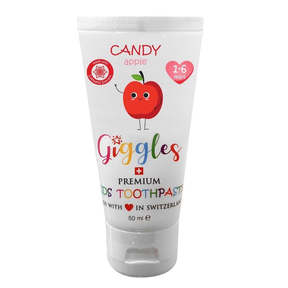 瑞士Giggles - 兒童牙膏(1-6歲)-蘋果-氟含量 500ppm