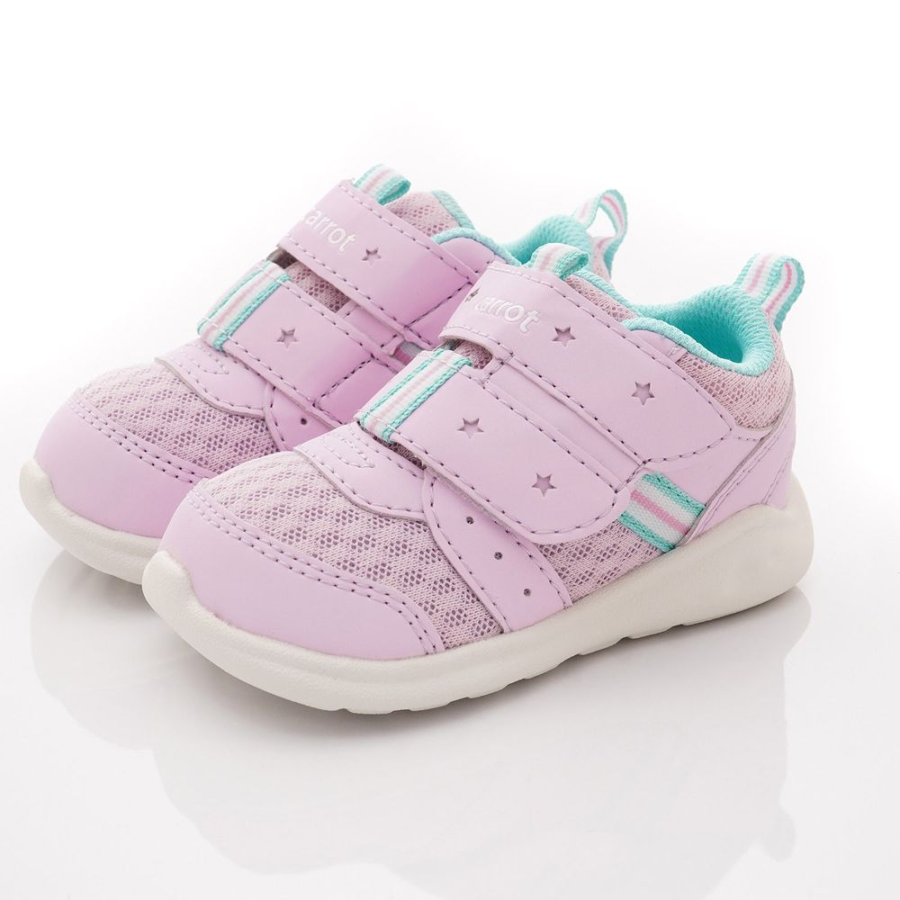 Moonstar日本月星 - 玩耍速乾可機洗學步鞋款(寶寶段)-紫