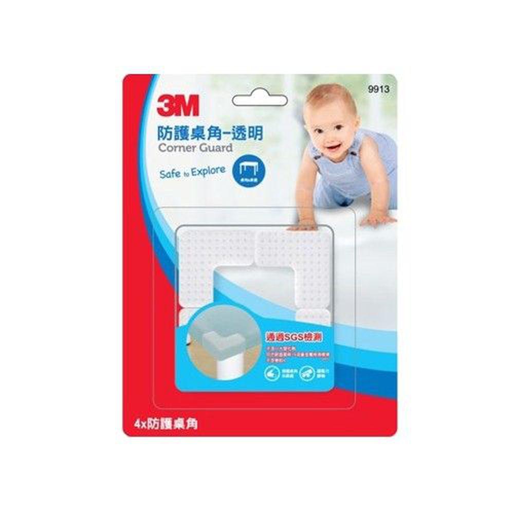 3M - 兒童安全防撞護角/桌角護墊-透明 (4.2x4.2x2.1cm)
