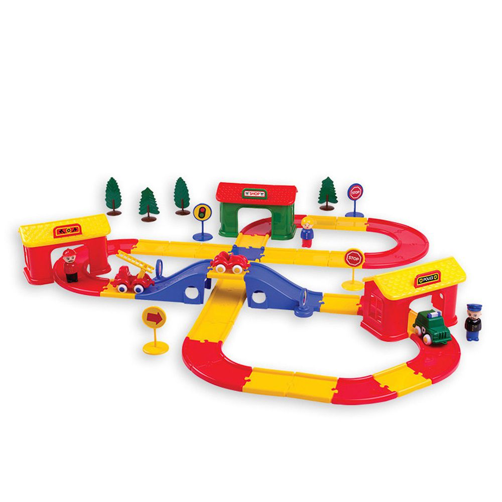 瑞典Viking toys - 【新品】城市交通隊軌道組