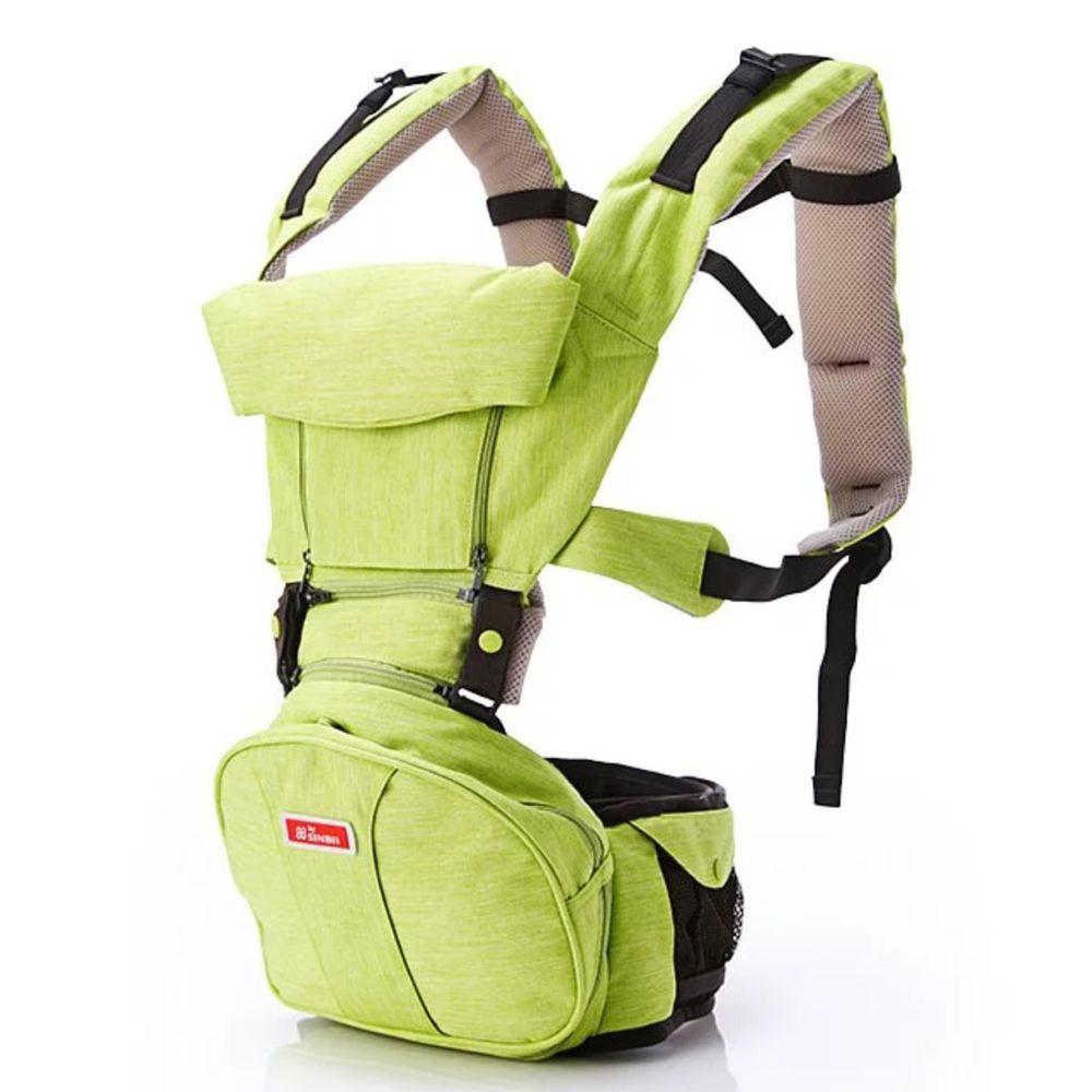 韓國sinbii - EZbag 2.0 全階段嬰兒背帶-亞馬綠