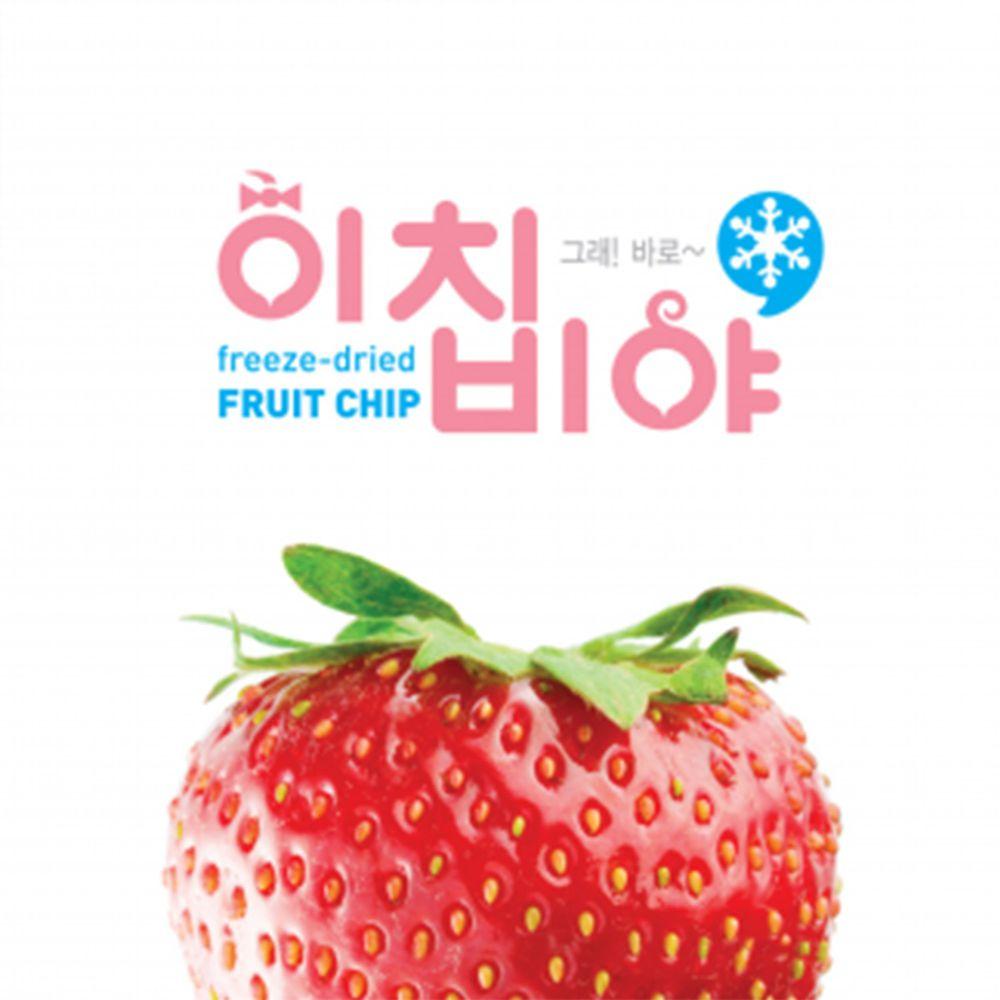 Ichibiya - 韓國幼兒水果乾-草莓-15g