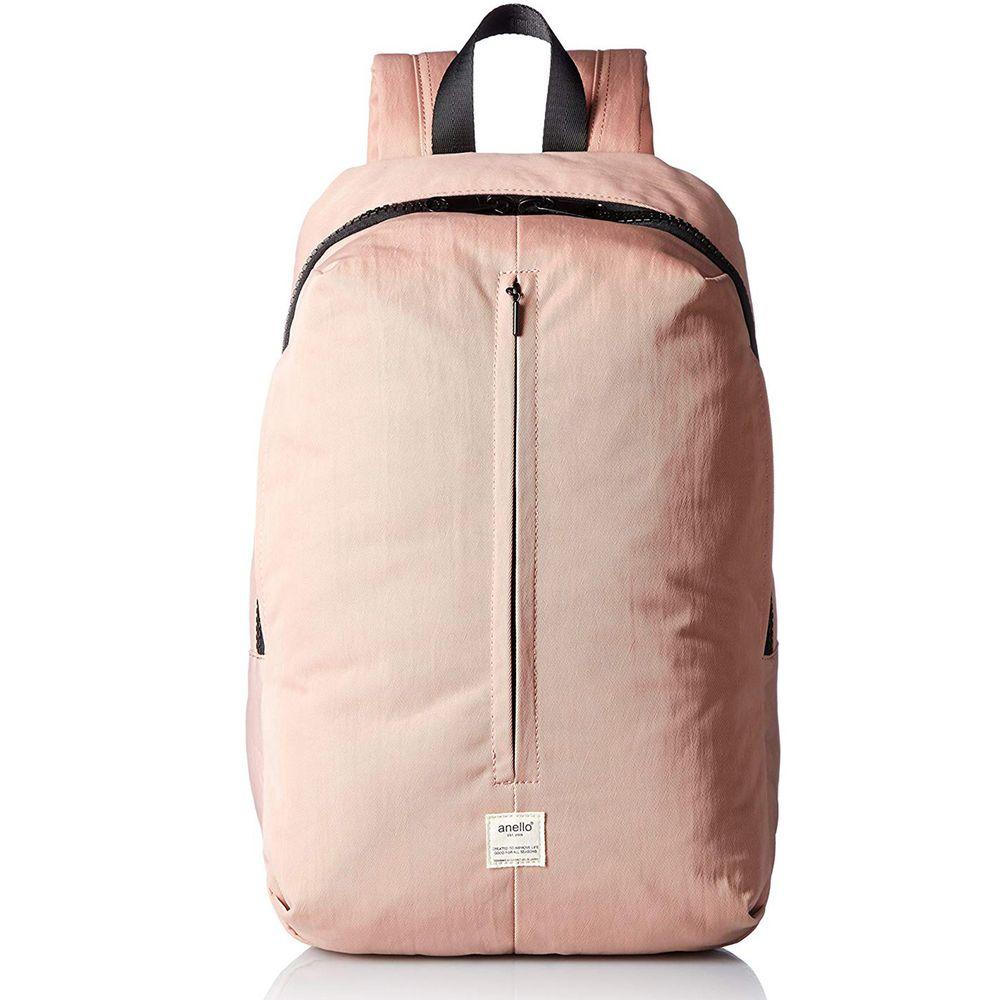 日本 Anello - 日本SPLASH立體設計後背包-Regular大尺寸-PBE粉棕