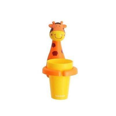 卡通牙刷杯架-長頸鹿