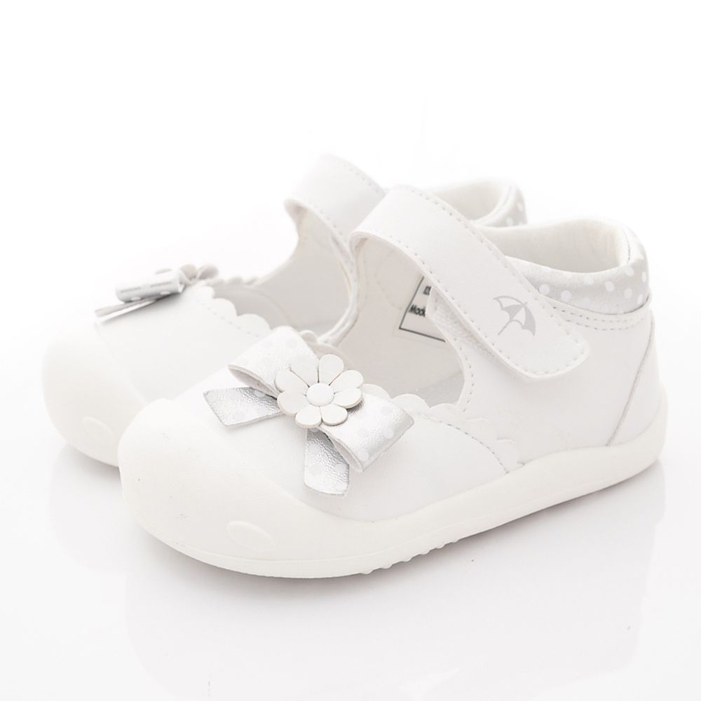 Arnold Palmer 雨傘牌 - 專櫃小花超輕涼鞋(寶寶段)-白