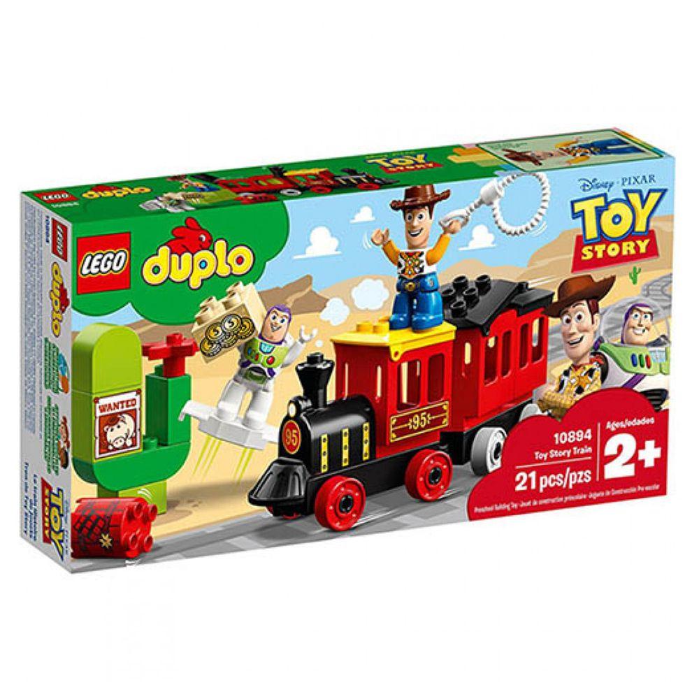 樂高 LEGO - 樂高 Duplo 得寶幼兒系列 - 玩具總動員火車 Toy Story Train 10894-21pcs