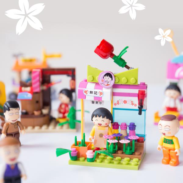 【櫻桃小丸子】商店街開張!8種以上夢幻場景