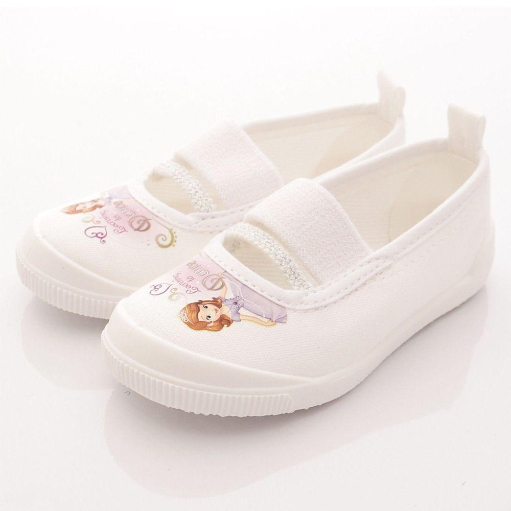 Moonstar日本月星 - 日本月星機能童鞋-2E日本製蘇菲亞室內鞋款(中小童段)-白