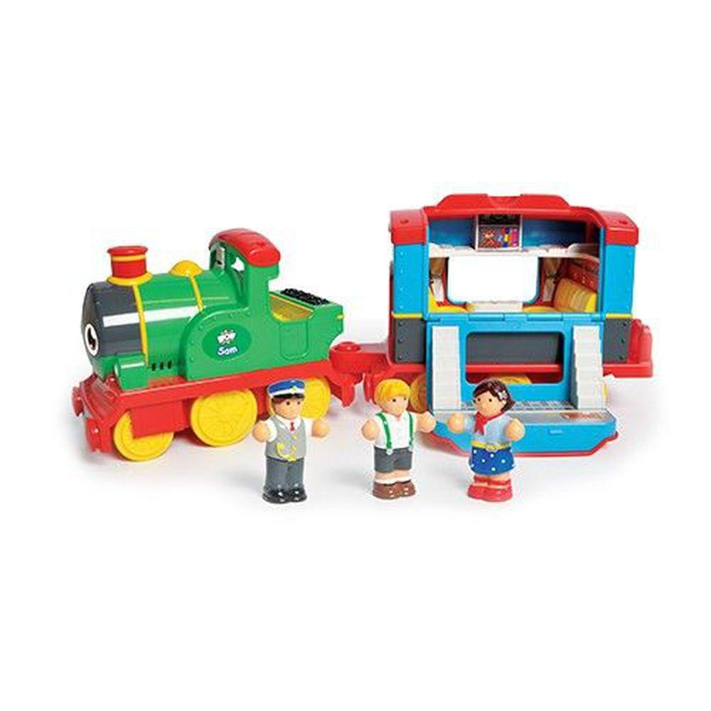英國驚奇玩具 WOW Toys - 山姆蒸氣火車