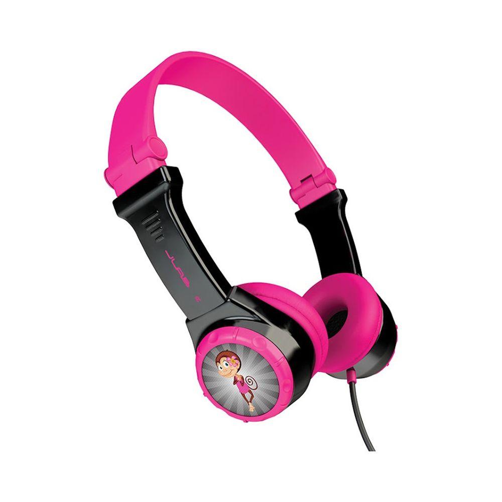 JLAB - JBuddies Folding 兒童耳機-粉紅色 (15 x 13 x 8 cm)