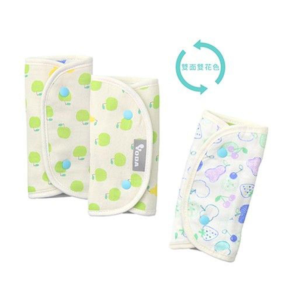 YODA - 和風輕柔日本紗舖棉口水巾-青蘋果樂園