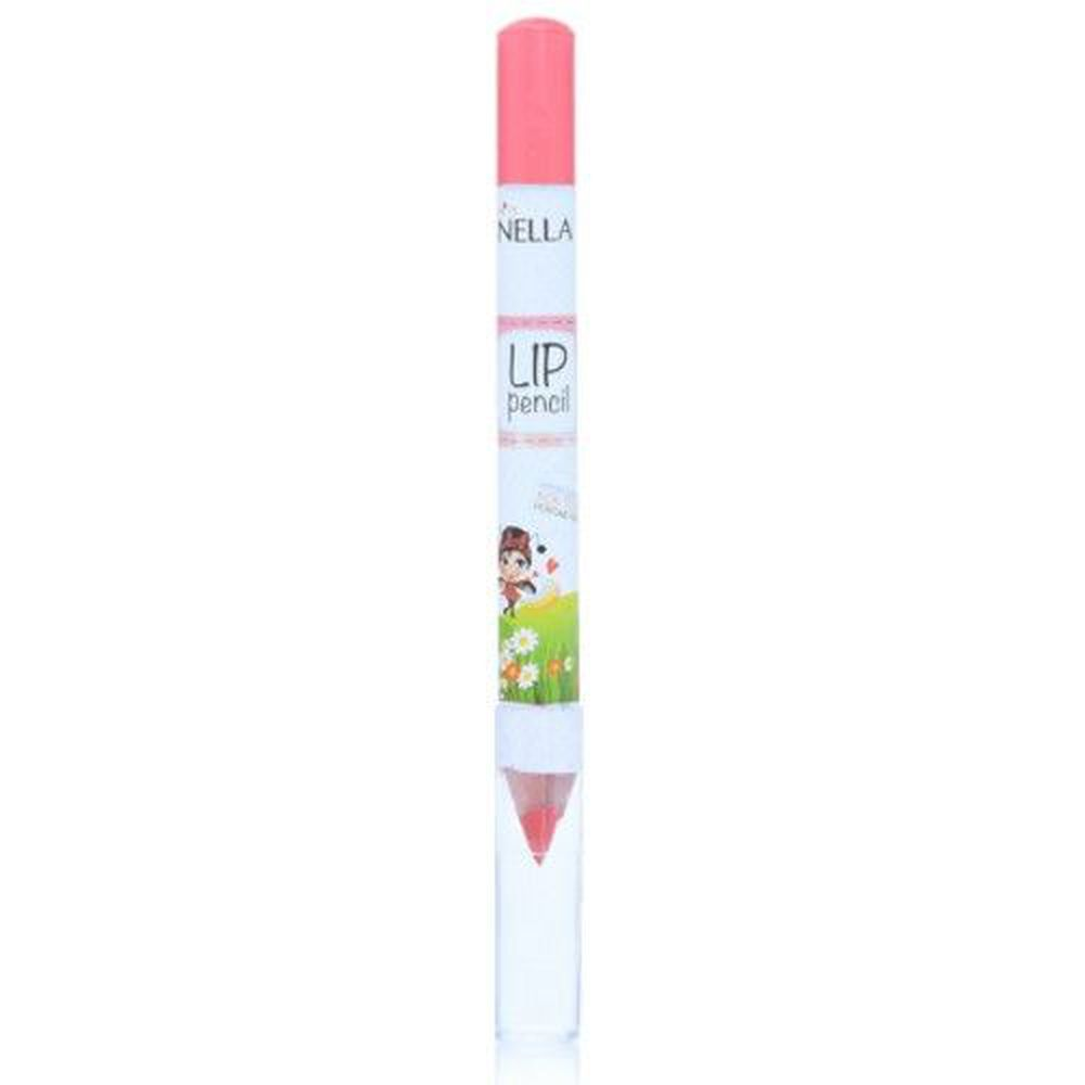 Miss NELLA妮娜小姐 - Miss NELLA 兒童水性護唇筆-春漾蜜桃粉紅-3g