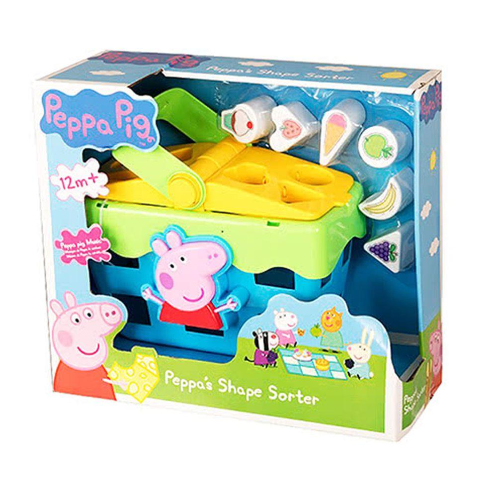 Peppa Pig 佩佩豬 - 粉紅豬小妹-創意智慧遊戲籃