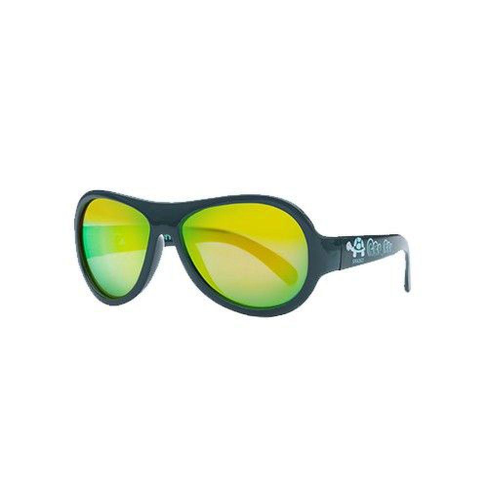 SHADEZ - 可彎折嬰幼兒時尚太陽眼鏡-藍色烏龜 (0Y~3Y)