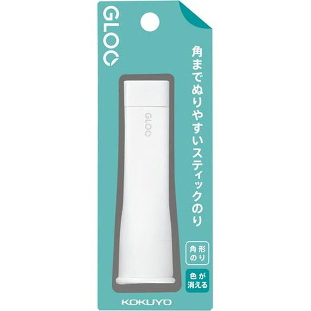 日本文具代購 - 正方形口紅膠-有色消失型-藍 (S)