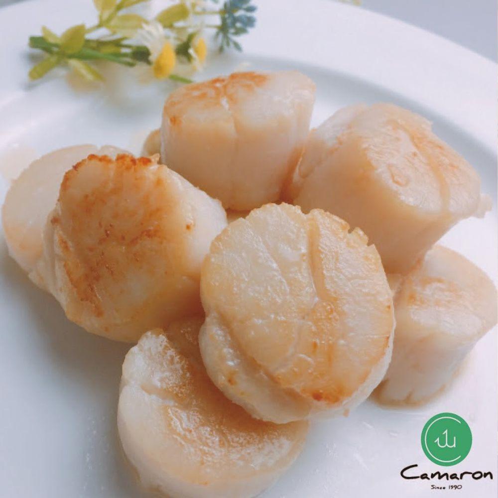 Camaron卡馬龍 - 嚴選-北海道干貝 S生食級 250公克 (約8~9顆)