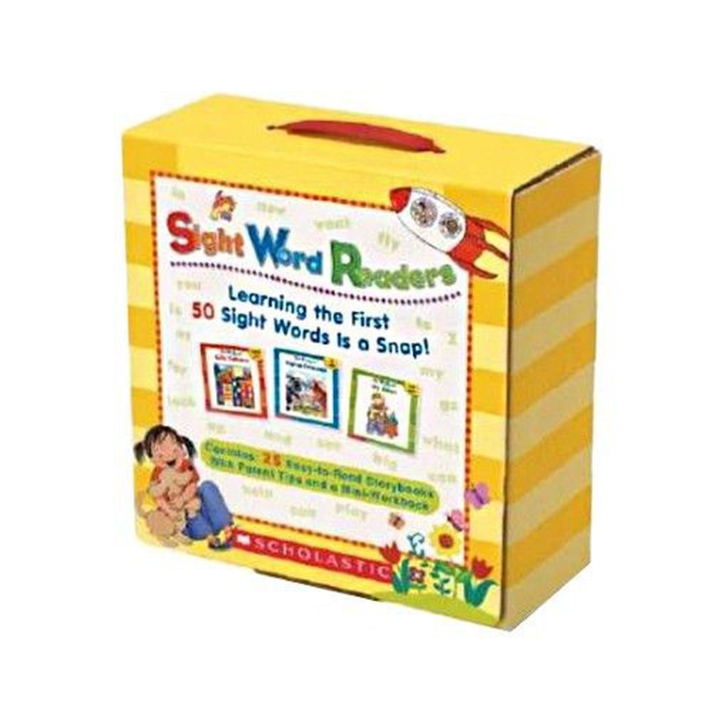 Sight Word Readers Boxed Set+CD-書+CD