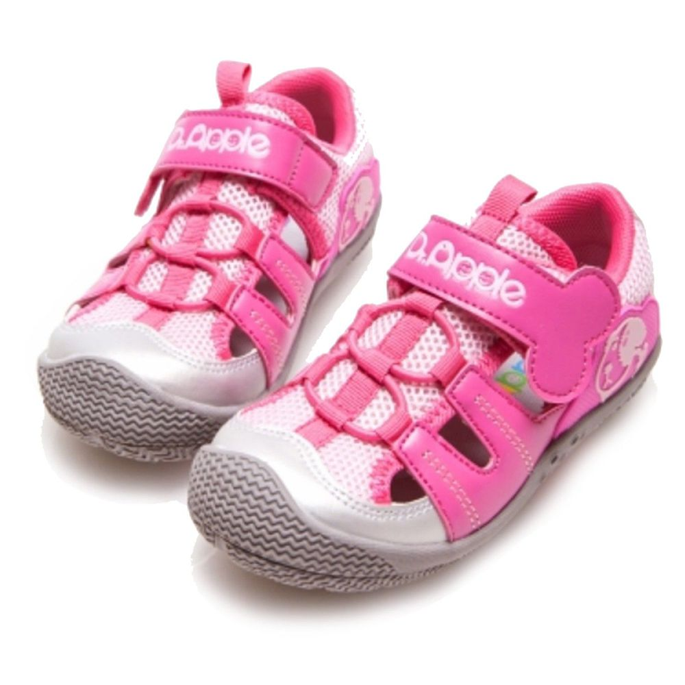 Dr. Apple - 機能童鞋-狗骨頭玩樂青春涼童鞋-粉