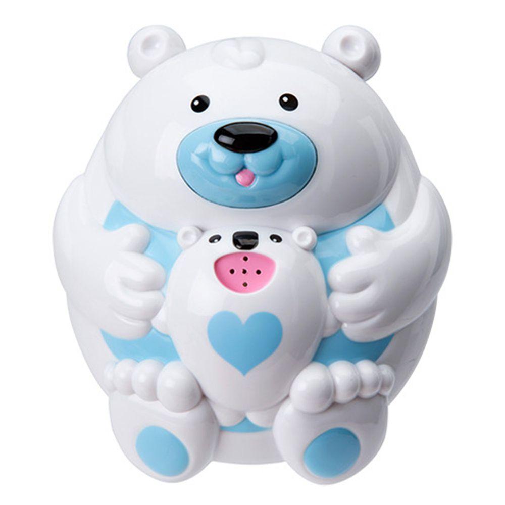 美國 ALEX - 漂浮噴泉親子北極熊