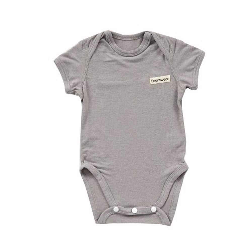 Edenswear 伊登詩 - 鋅纖維抗敏衣系列-小寶寶包屁衣-灰