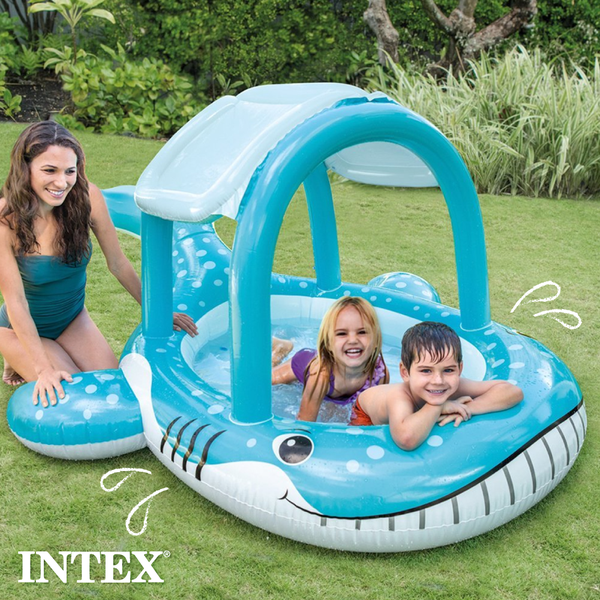 不出門最強玩水法【美國INTEX】室內泳池