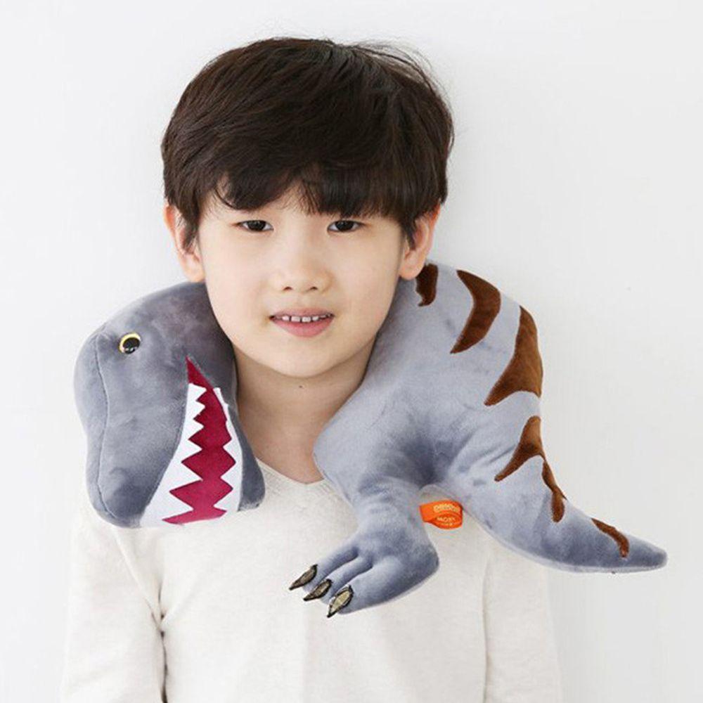 韓國PROM - 恐龍造型枕-灰色暴龍 (36*34CM)
