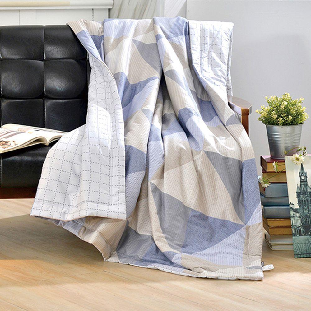 格蕾寢飾 Great Living - 義大利La Belle 純棉涼被-愜意時光 (5x6.5尺)