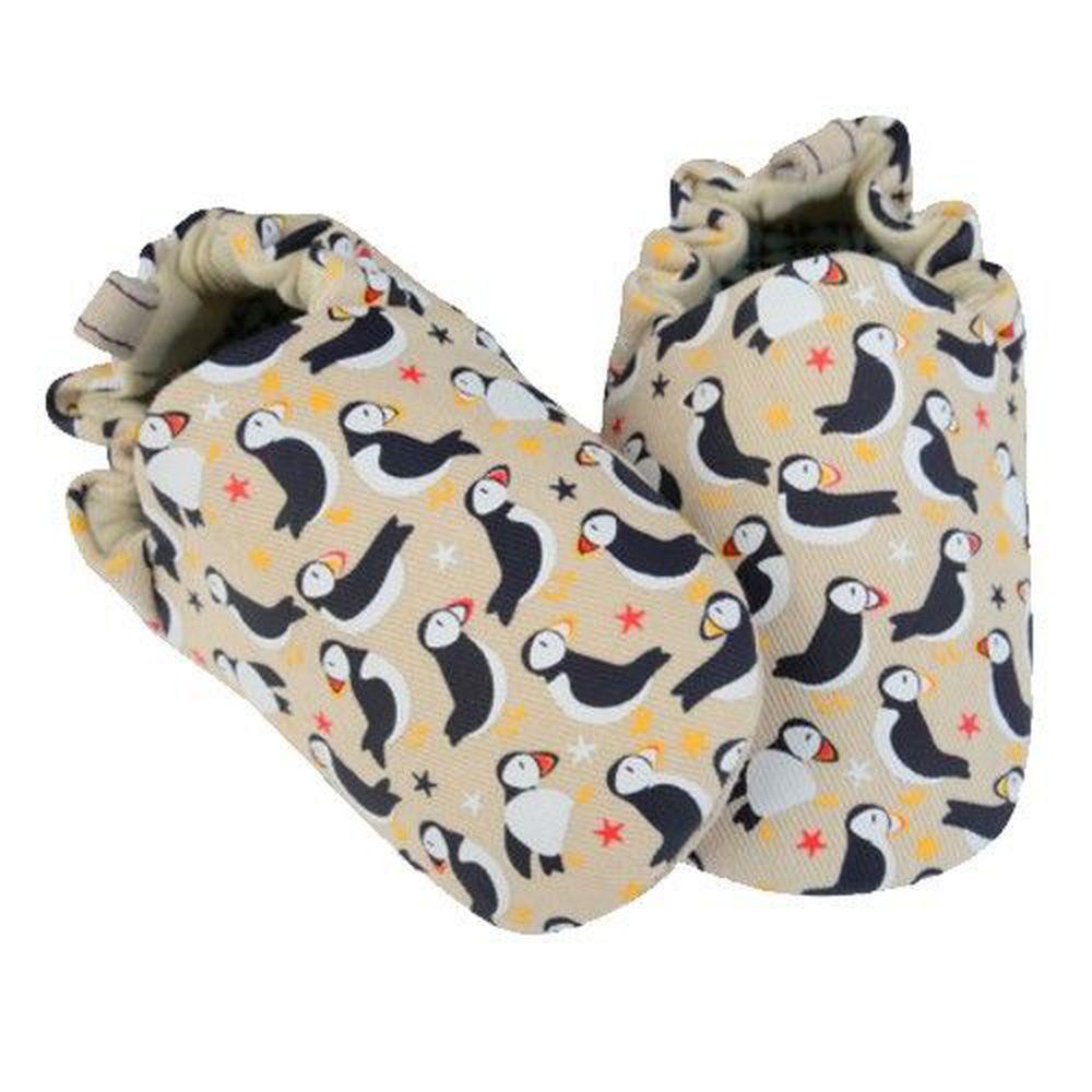 英國 Poconido - 寶寶手工鞋/學步鞋-海鸚鵡