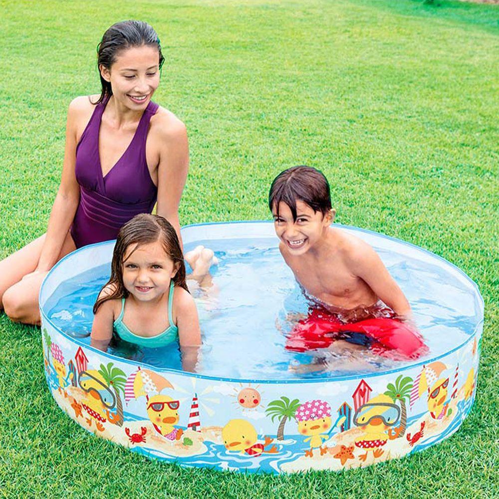 akachan honpo - 黃色小鴨戲水趣游泳池