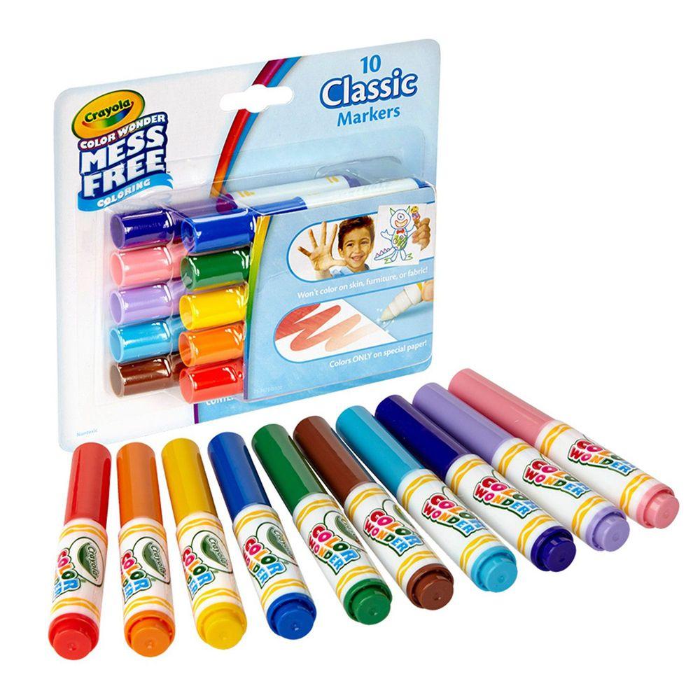 Crayola繪兒樂 - 神彩系列色筆-經典色10色