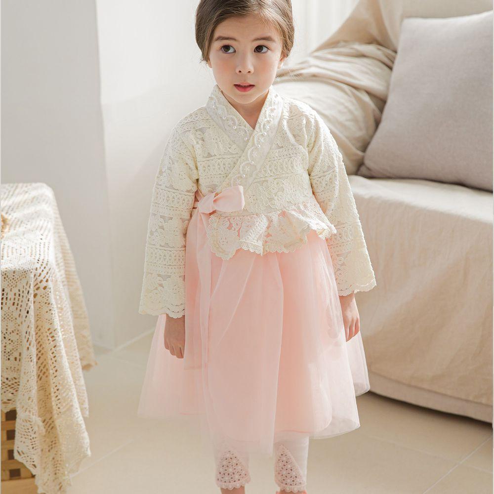 韓國 mari an u - 華麗蕾絲2件式韓服
