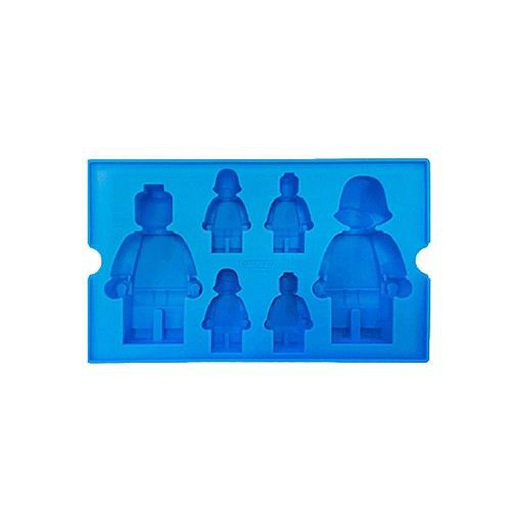 韓國 OXFORD - 樂高造型DIY模具-6格-藍色