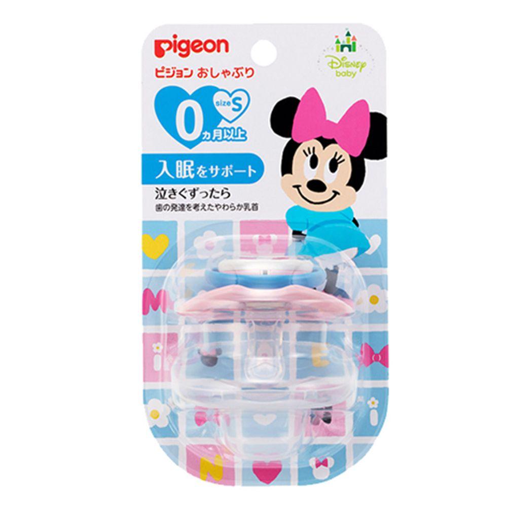 貝親 Pigeon - 迪士尼安撫奶嘴-米妮-淺粉 (S)-0M以上