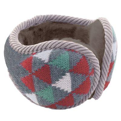 Tehtava後戴式耳罩(成人款)-三角-紅