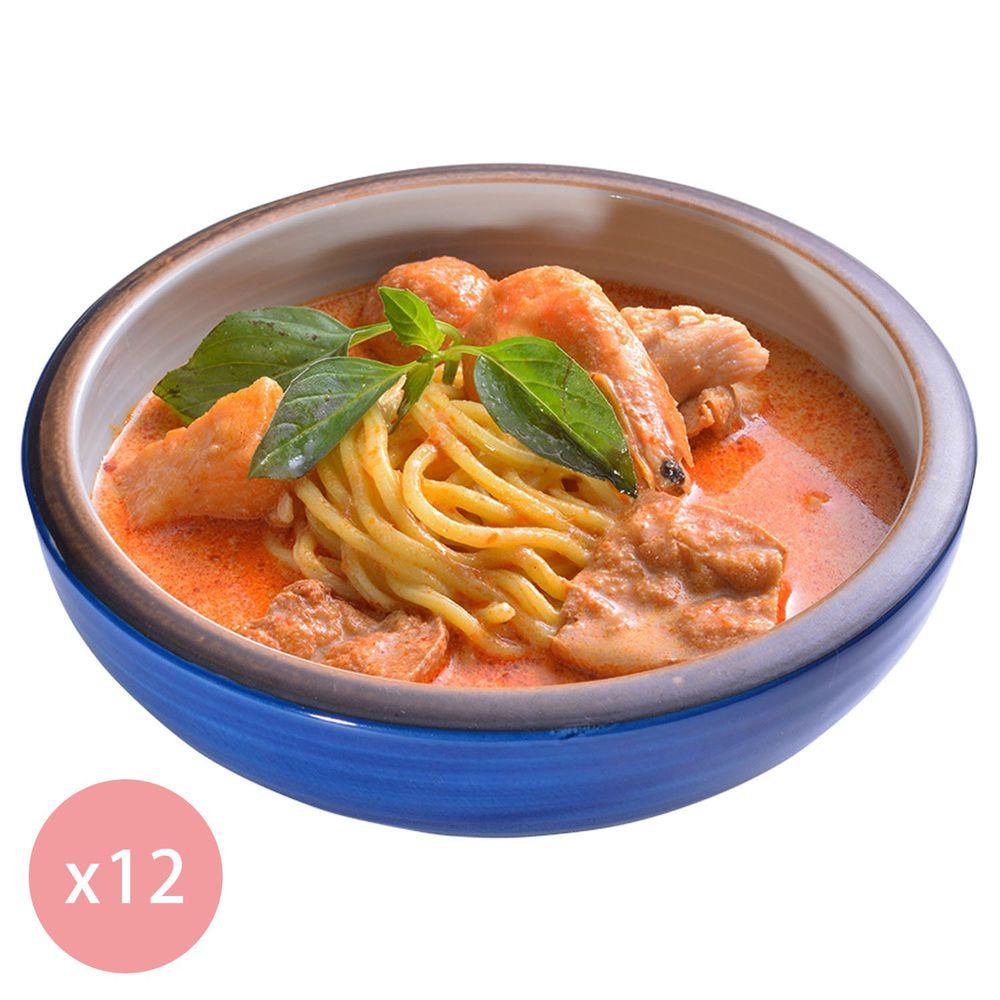 【國宴主廚温國智】 - 冷凍叻沙勁麵700g x12包
