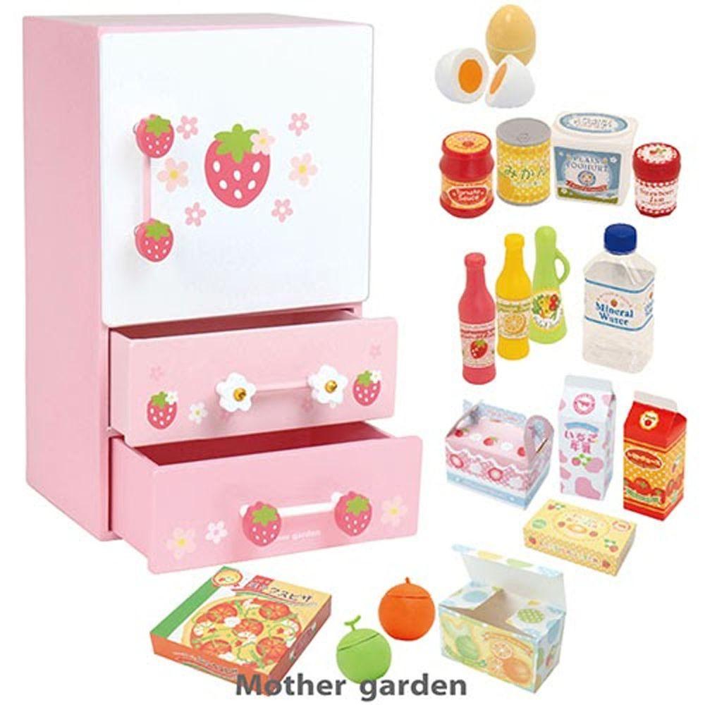 Mother Garden - 日本【Mother Garden】冰箱-三門款