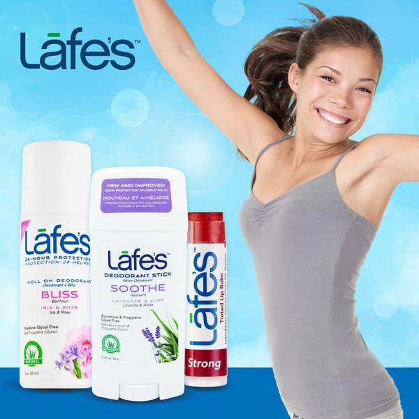 美國 Lafe's Organic 體香劑 抑制汗味 / 純自然潤色唇膏