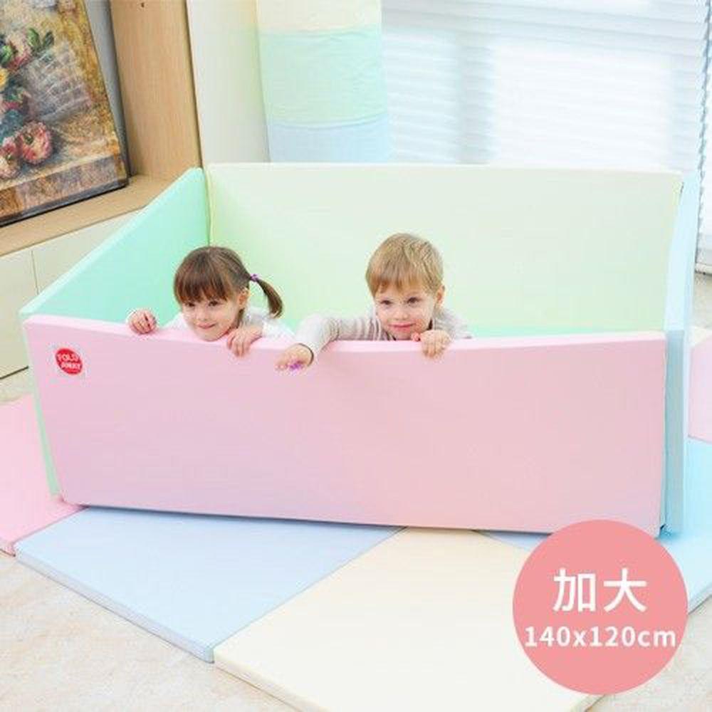 韓國 Foldaway - 安全遊戲城堡圍欄-加大款-Lollipop棒棒糖 (140x120cm)