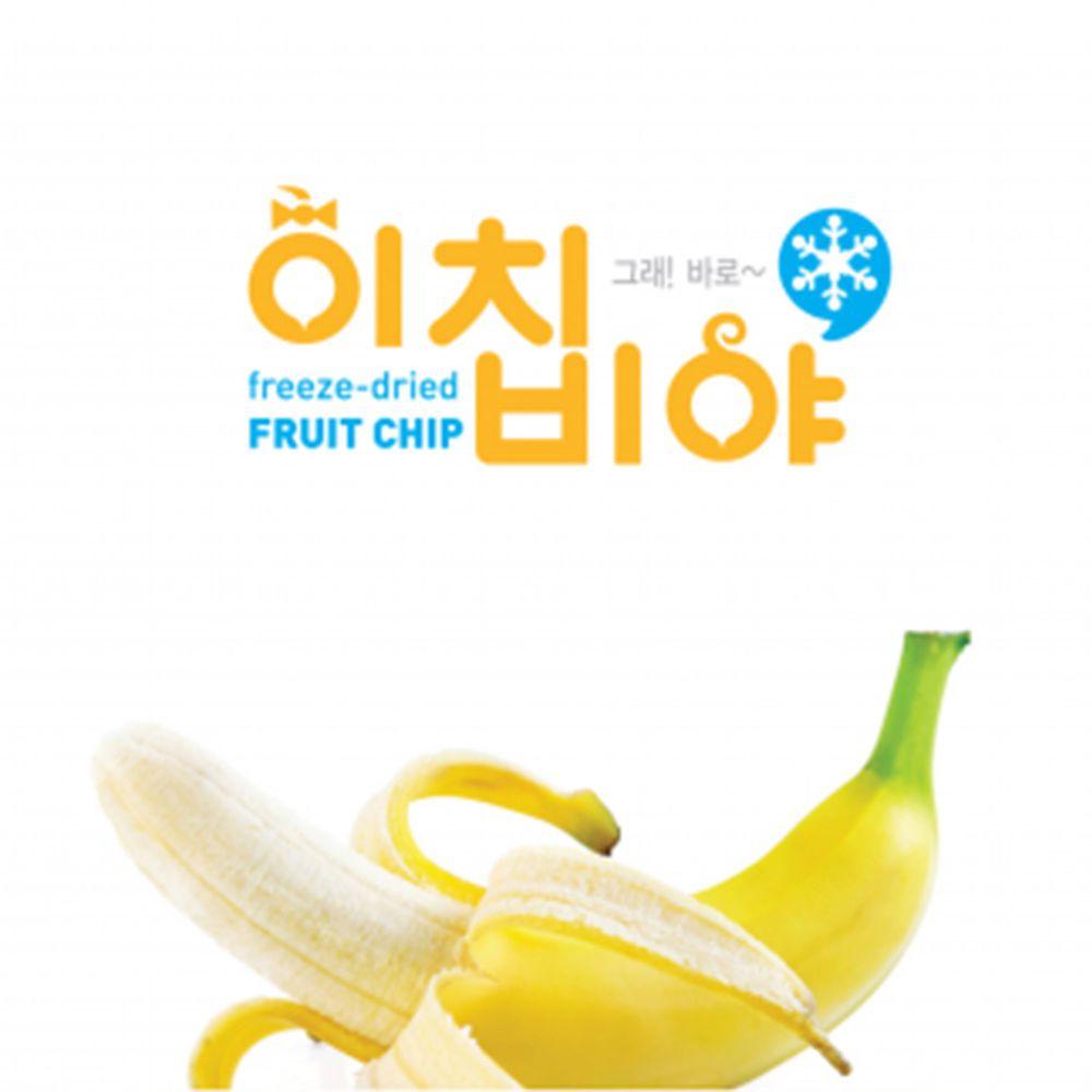 Ichibiya - 韓國幼兒水果乾-香蕉-20g
