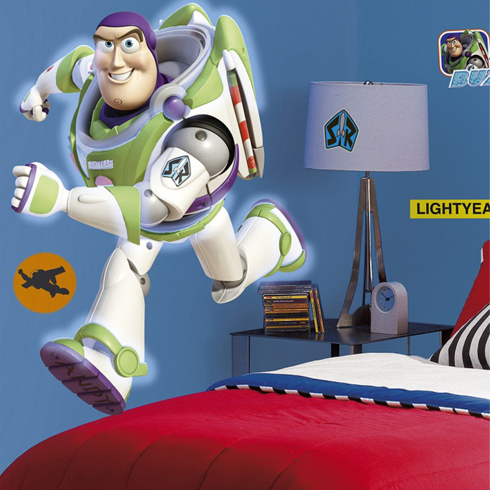 美國Roommates - 美國進口迪士尼壁貼-大巴斯光年