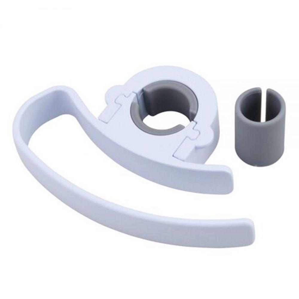 日本代購 - Daiya 日本製沐浴花灑固定式毛巾置物架-花灑直徑2.4~3cm內適用
