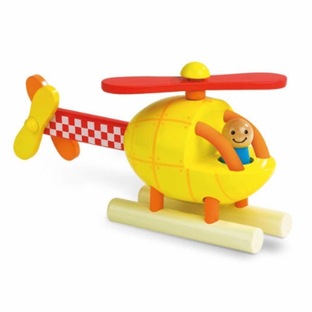 Janod - 磁性拼裝積木-直升機