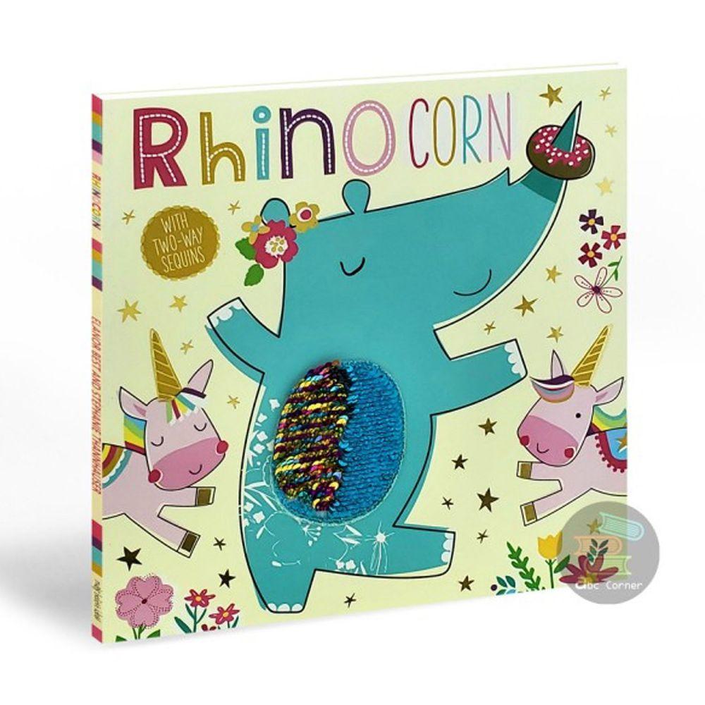 Rhinocorn(雙向亮片繪本)