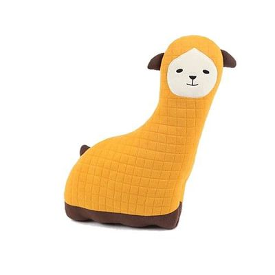 Hugdoll安全帶歡樂抱枕-黃色