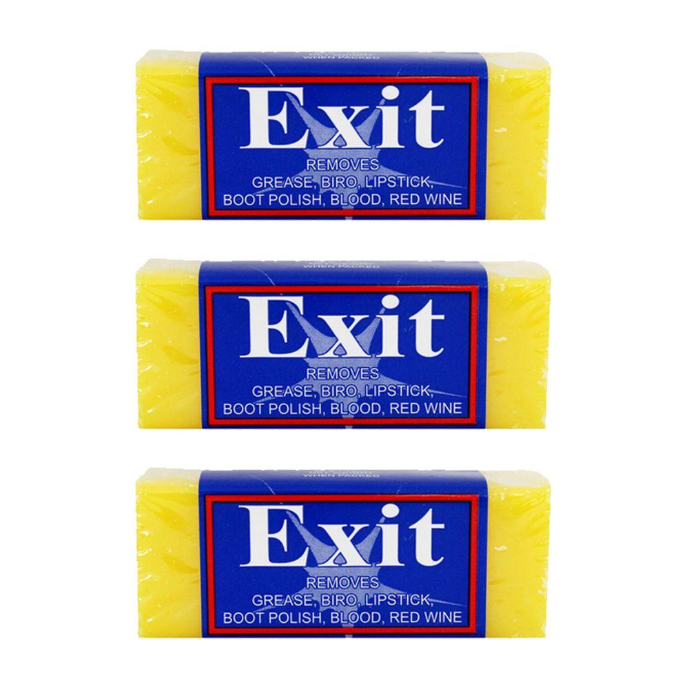澳洲 Exit - 純天然萬用去漬皂-3入/組